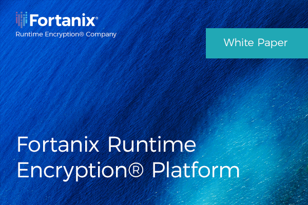 FortanixRuntimeEncryptionPlatform-whitepaper