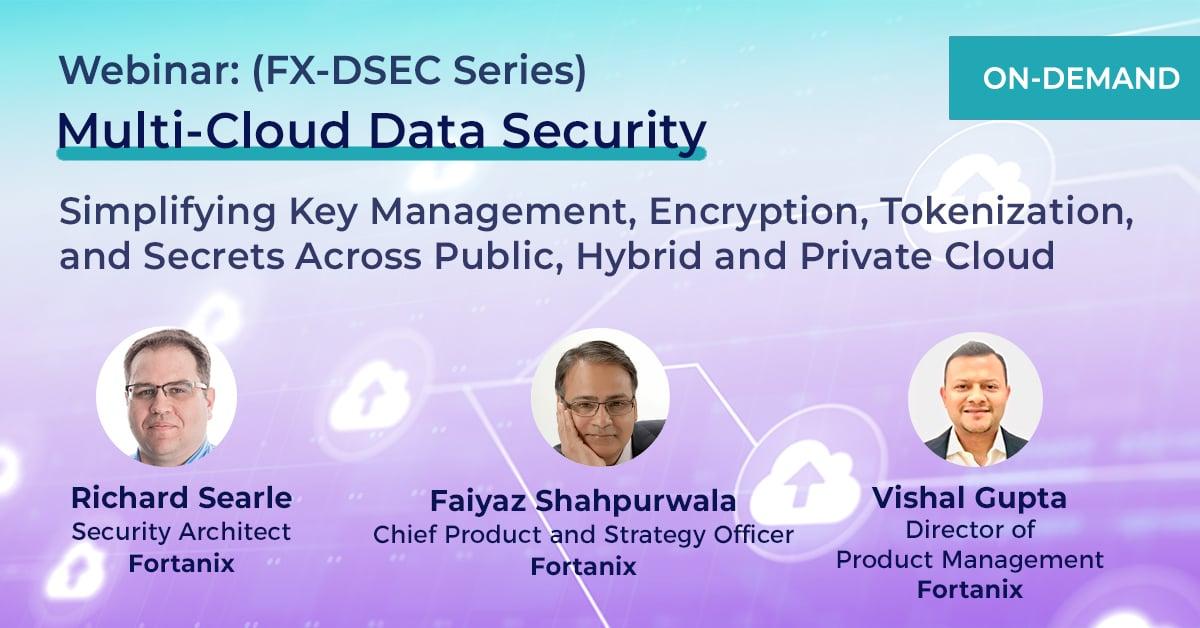 On demand webinar Multi cloud security